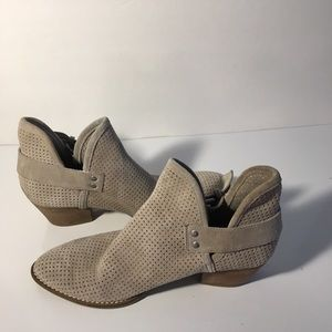 Dolce Vita Taupe Booties